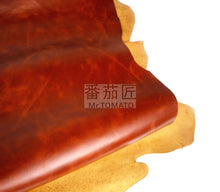 Junetree LEATHER HIDES COW SKINS brown thick first layer of genuine leather about 1.6 to 1.8 mm cowhide