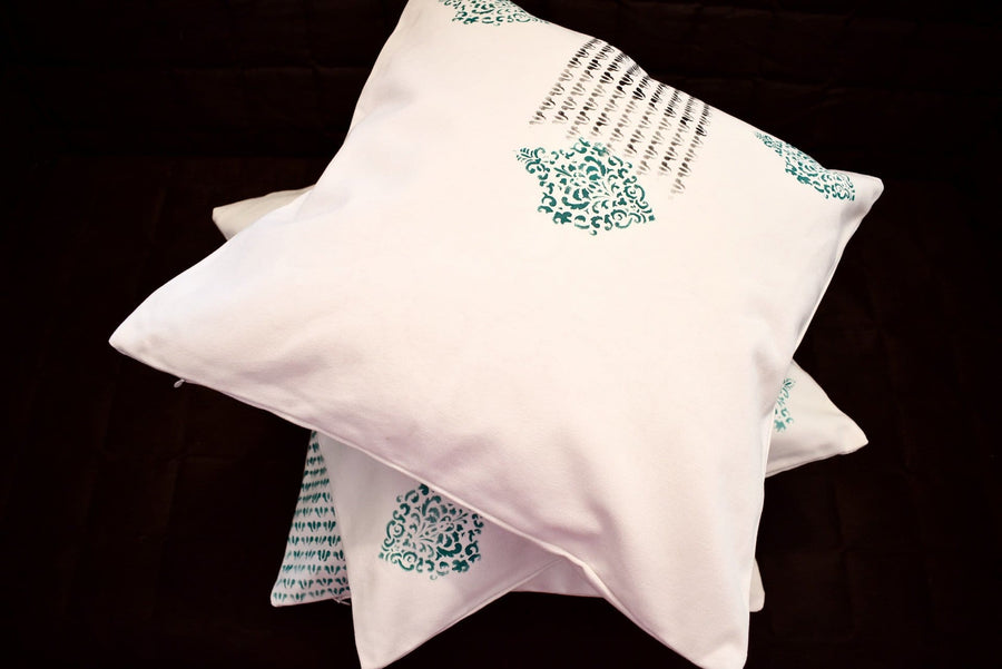 Cushion Covers Block Printed Royal Jaipur- Set of 3