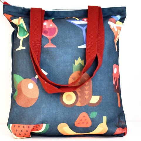 Geanta Tote din Canvas - Coctail