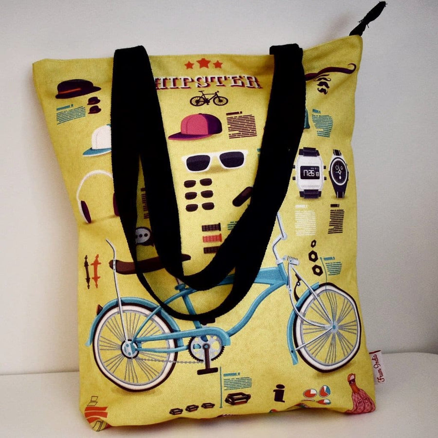 Geanta Tote din Canvas - Hipsters
