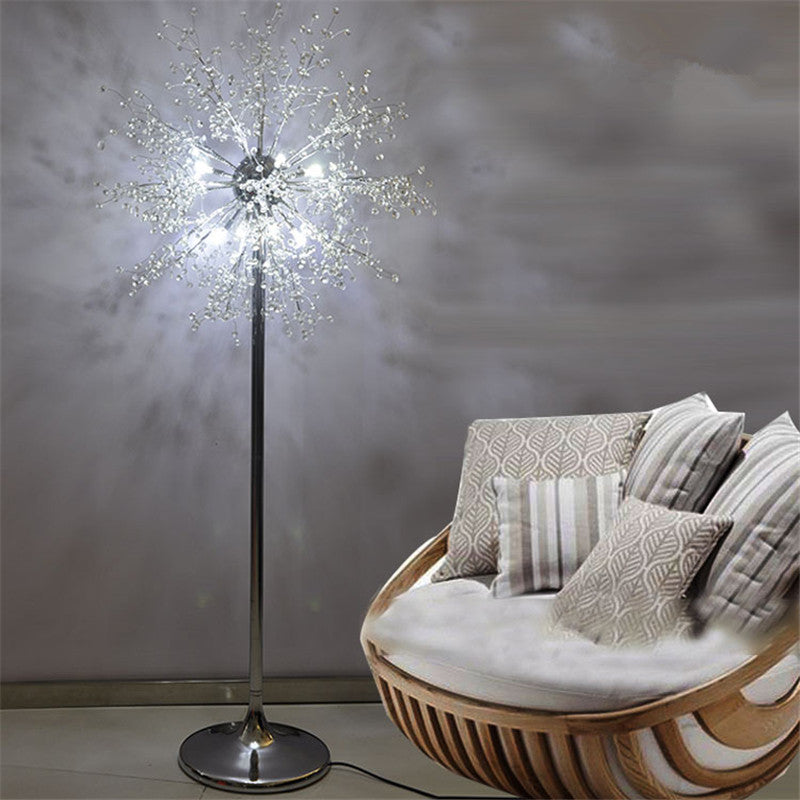 Nordic Floor Lamp Stainless Steel Vertical Indoor Lighting Modern ...