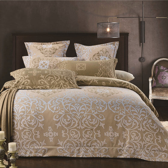 4593703262bf Sookie Classic Twin/Queen/King Size 3 Pieces Bedding Set Motif of Rolled  Duvet