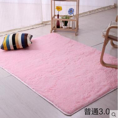 160*200cm Large Size Plush Shaggy Soft Carpet Area Rugs Slip ...