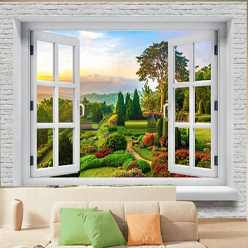 Custom 3d Wall Murals Wallpaper Landscape Photo Wall Paper Natural Murals Scenic Living Room Sofa Backdrop 3d Hd Wallpaper Mural
