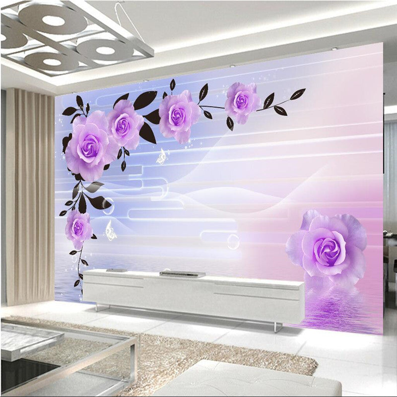 Beibehang Papel De Parede Custom Photo Wallpaper Mural Retro 3d Stereo Hotel Restaurant Mural Wall Papers Home Decor Wallpapers Painting Supplies & Wall Treatments