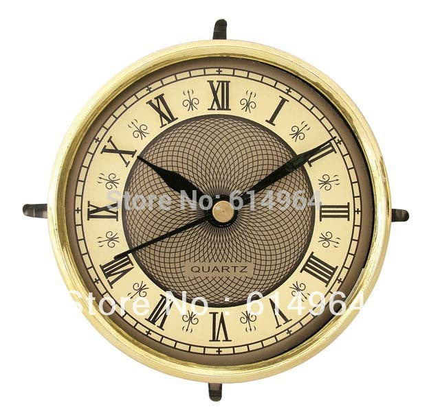 Insert clock clock head watch movement 81mm(09A) European style clock parts  for craft clock 5pcs/lot, Free shipping,