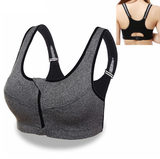 Simplyy Fit® Slimming Push Up Zip Up Sports Bra