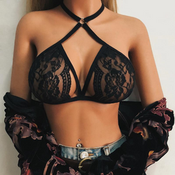 Shelby Criss Cross Lace Push Up Bralette