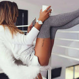 Sexy Knee High Socks - Soft Cotton