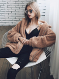 Fluffy Teddy Casual Coat