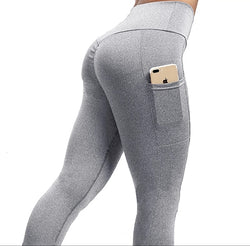 Scrunchy Butt Enhancing Leggings With Pockets
