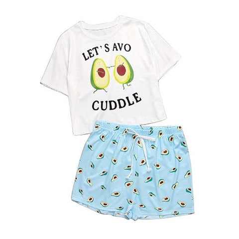 Avocado Avocuddle Pajamas Set