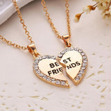 Best Friends BFF Matching Necklace - 2 PCS