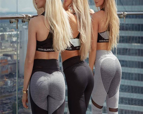 Simplyy Fit® Sweet Heart Ultra Butt Lift Leggings - Limited Edition Dark Series