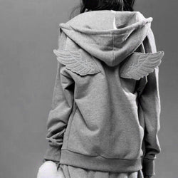 Angel Wing Hoodie Sweater