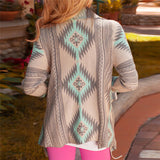 Batwing Sleeve Cardigan Poncho Sweater