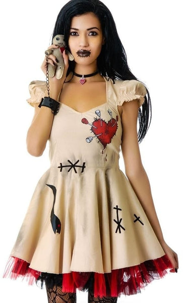Voodoo Doll Costume Dress Halloween