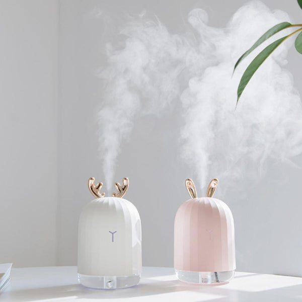 Adorable Little Animal Humidifier Diffuser - Use with or without Essential Oils
