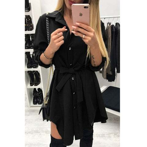 Lovely Trench Coat Dress