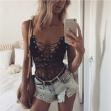Kimberly Lace Up Bodysuit