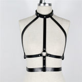 Deena Choker Body Harness
