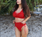 Angelina Lace Bikini - NON see through