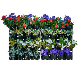 Expandable Green Wall with Built-In Micro Dripper - 4 Pack