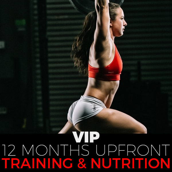 12 Month VIP Training and Nutrition