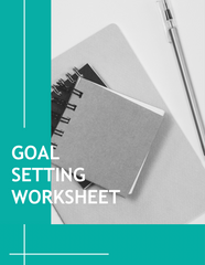 FREE GOAL SETTING WORKSHEET AND 5 DAY CORE CHALLENGE