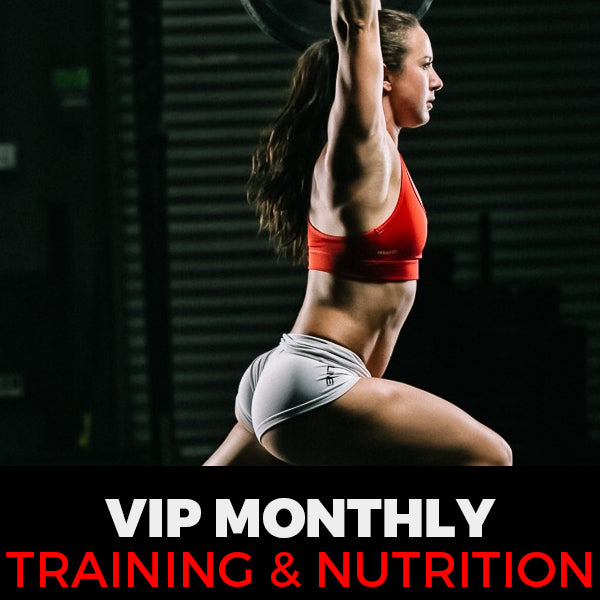 $240 Monthly Training and Nutrition