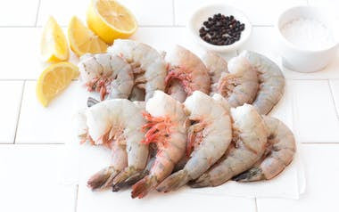 Wild Gulf Shrimp, Shell-On 16-20 size (Frozen)