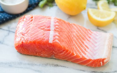 Fresh Wild King Salmon