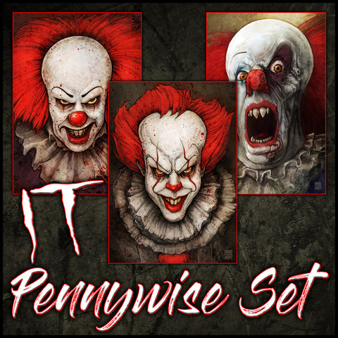 LIMITED PENNYWISE COLLECTION SET