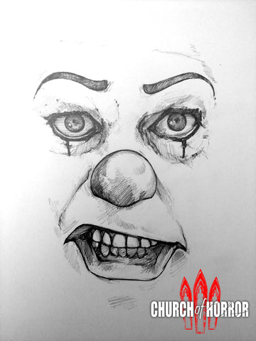 Pennywise Face Original