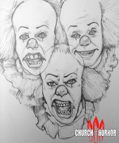 Pennywise Faces Original