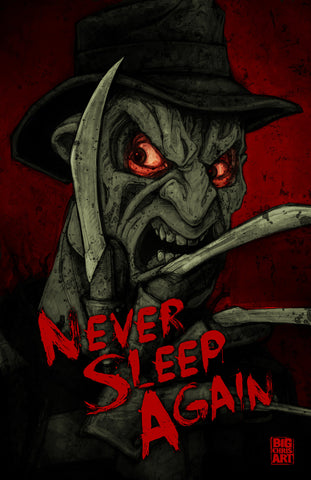 Freddy - Never Fall Asleep Again