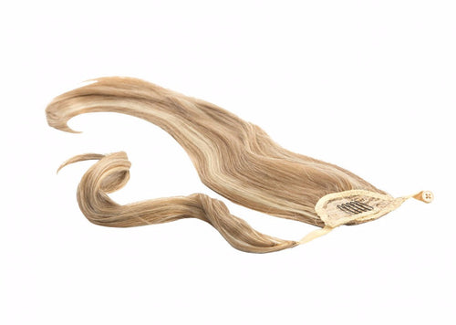 Warp around pony hair extension