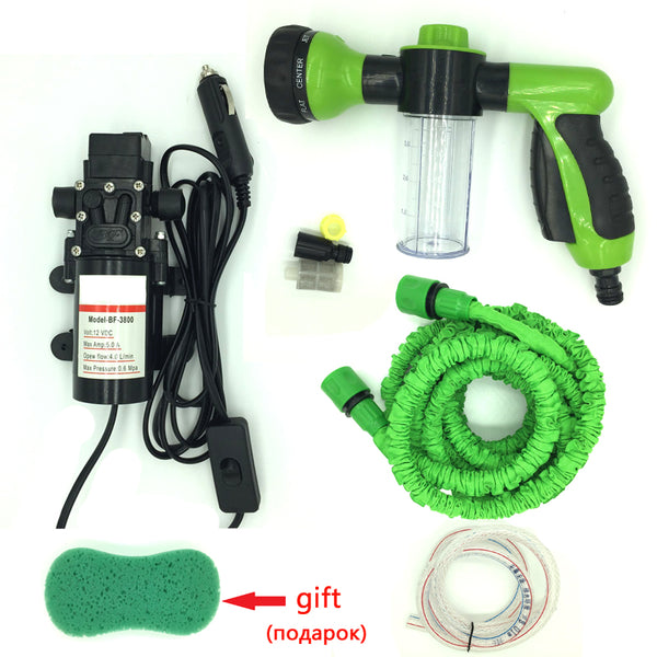 12V CAR WASH HIGH PRESSURE WATER PUMP