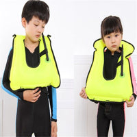 CHILD'S INFLATABLE LIFE VEST