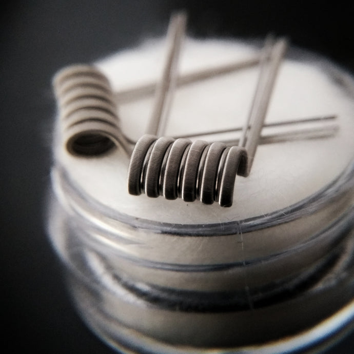 Staged Fused Claptons (2 sets)   - By Builders Best Coils