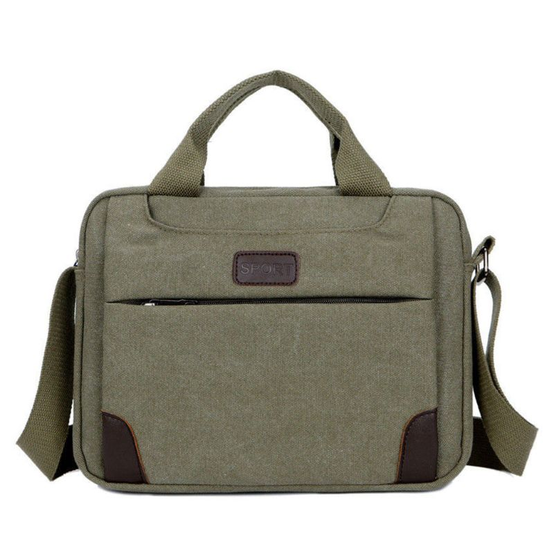 6737da96ea ... Shoulder Bag  THINKTHENDO Men s Canvas Crossbody Shoulder ...