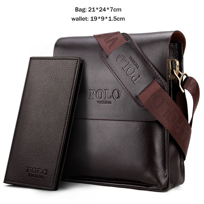 a94be9d058 VICUNA POLO Casual Business Leather Men s Bags – Zaamdeals.com
