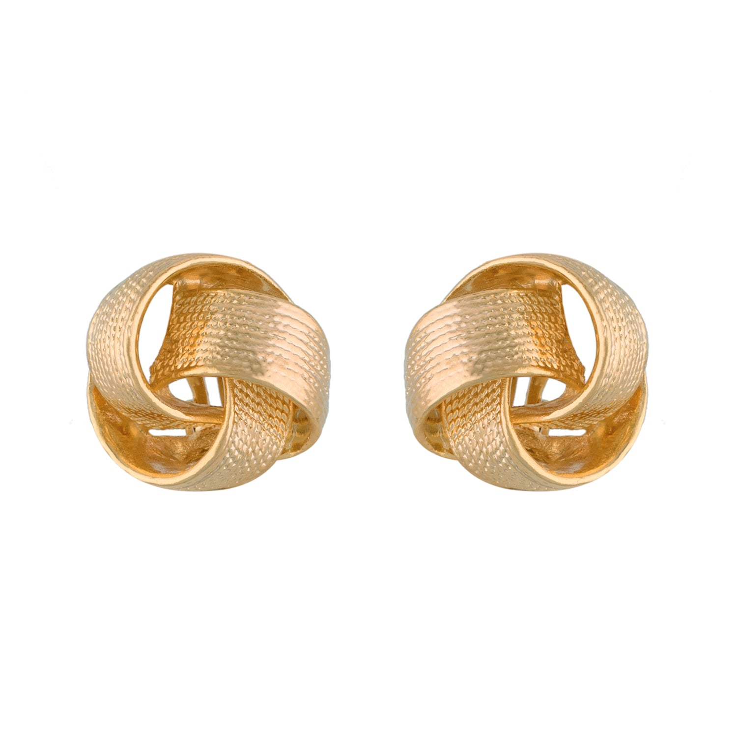 Stunning Gold Colour Alloy Clip On Earrings for Girls