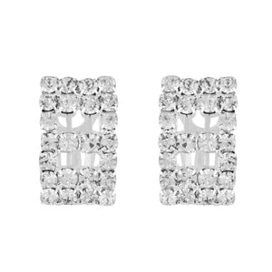 Outstanding Silver Colour Alloy Clip On Earrings for Girls