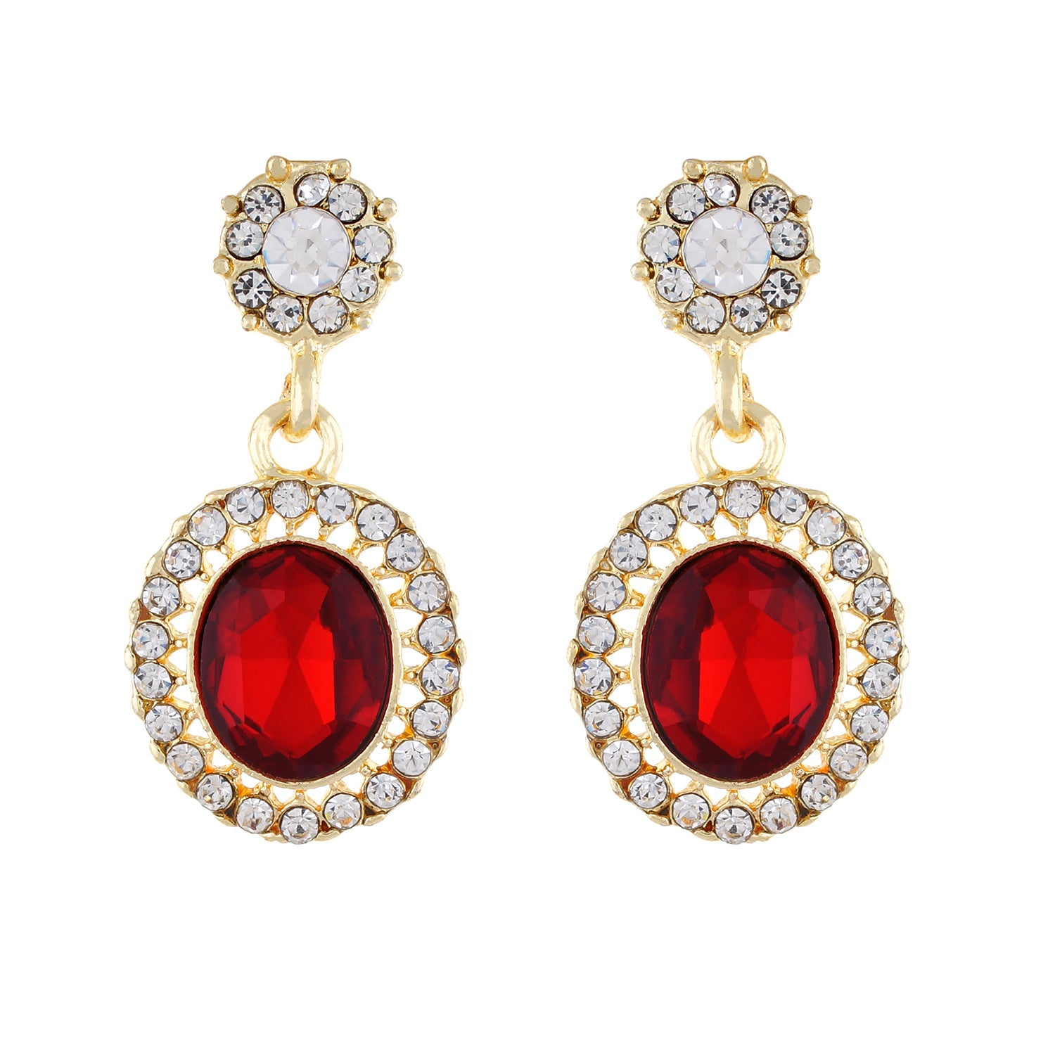 Red and Gold colour Round design Hanging for girls and women