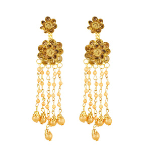 Gold plated Alloy Earrings Fashion Imitaion Jewelry for Girls and Women