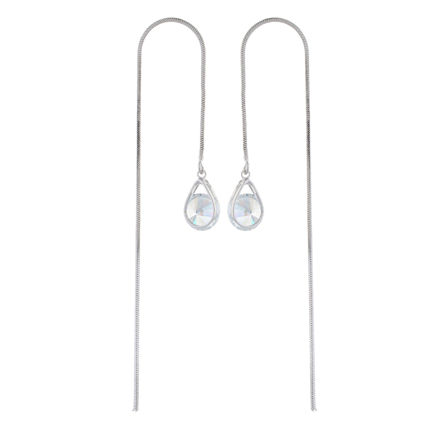 Silver colour Drop design  Long Hanging for girls and women