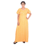 Load image into Gallery viewer, Printed Cotton Nighty For Ladies