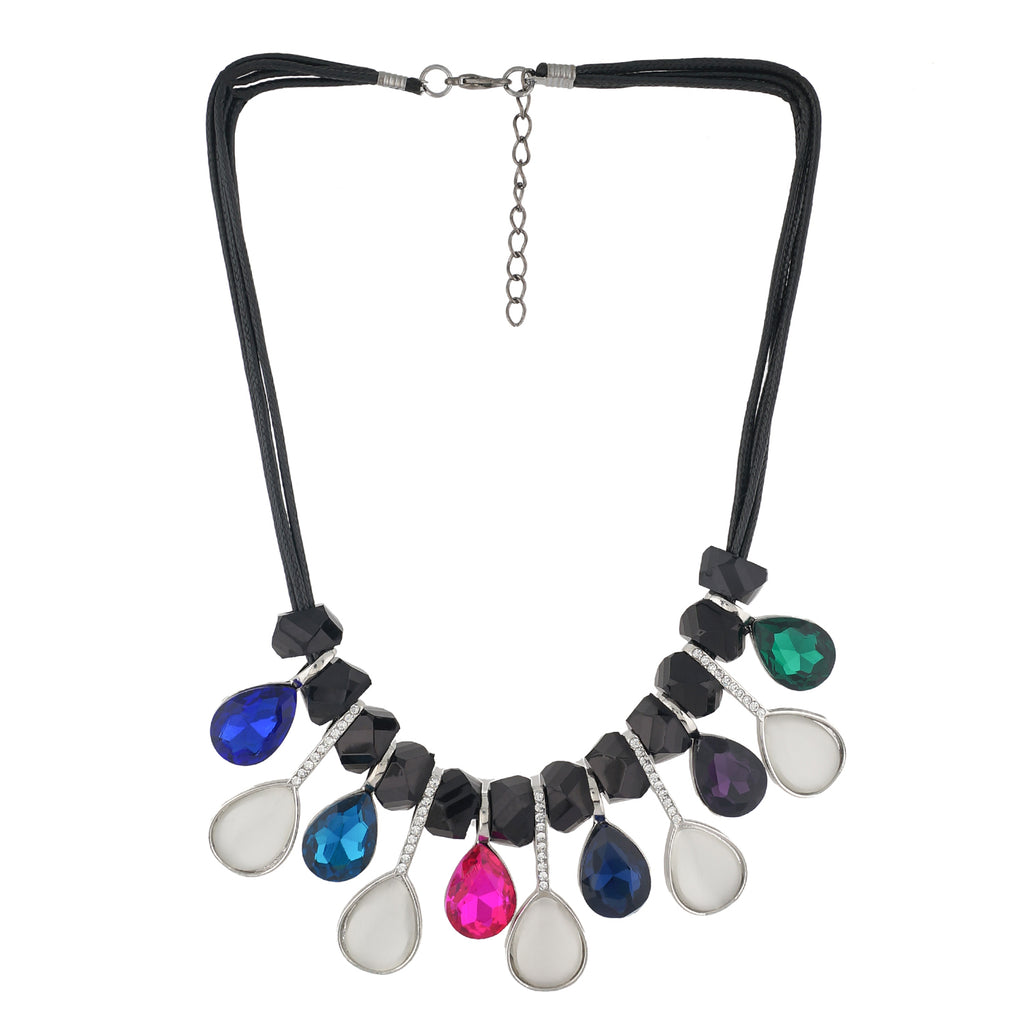 Colour Drop Design Necklace for Girls and Womens