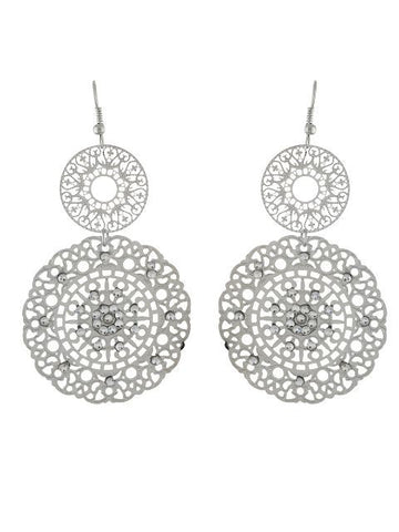 Silver colour Earring